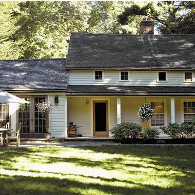An 18th Century Starter House Saved From Ruin American FarmhouseWhite