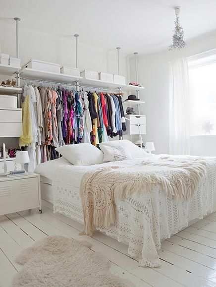 Inloopkast in de slaapkamer | Inrichting-huis.com