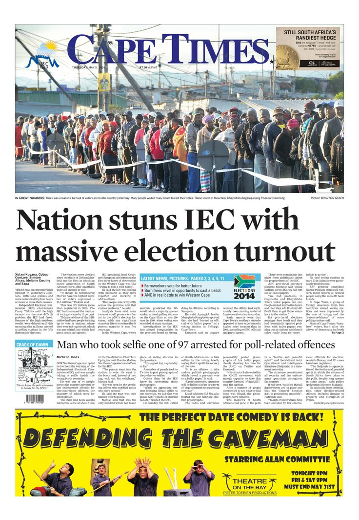 News making headlines: Nation stuns IEC with election turnout