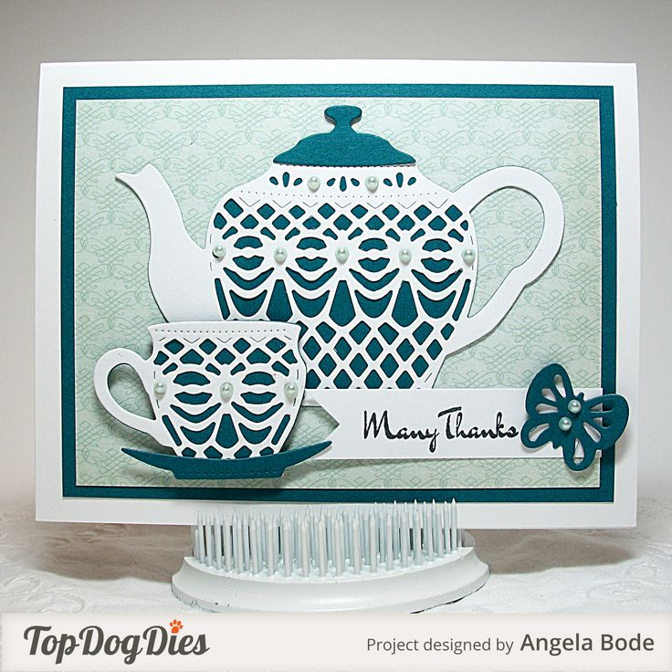 projects idea unique tea cups. Tea time  Blogger Angela Bode made this card with the Time Decorative Set 71 best Cards teacups images on Pinterest Coffee cards