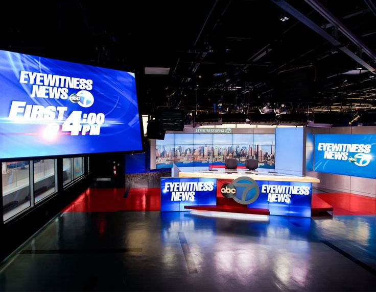 The broadcast headquarters of WABC Eyewitness News is located in the Lincoln…