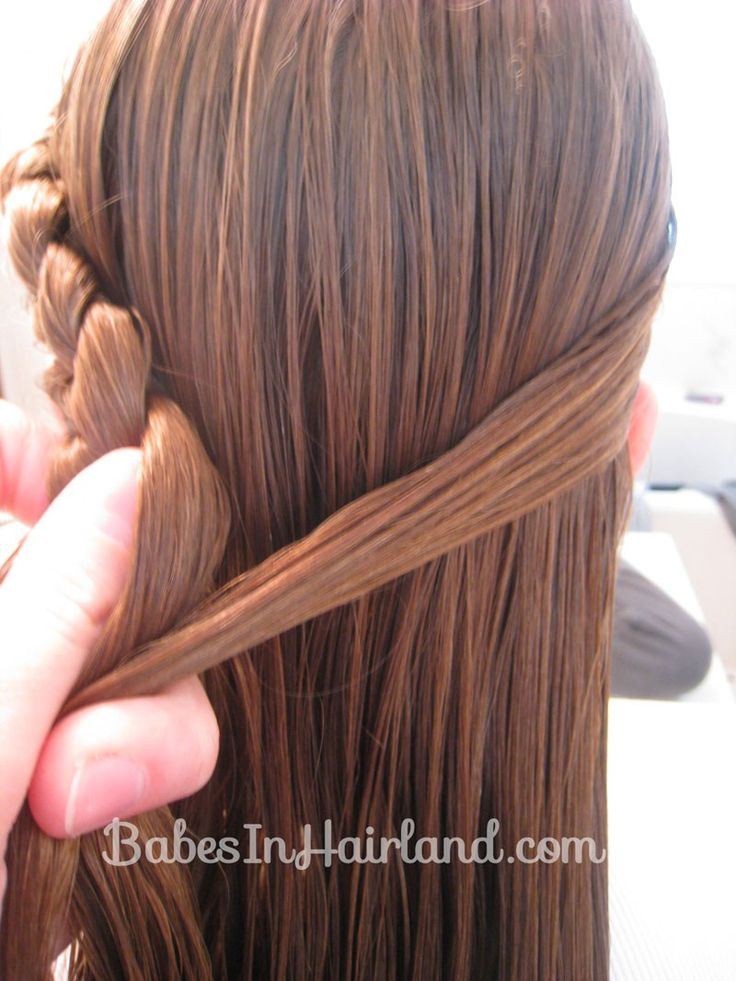 Half French Braid Hairstyle - BabesInHairland.com (5)