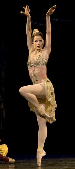 And on the stage: Darcey Bussell as Sylvia
