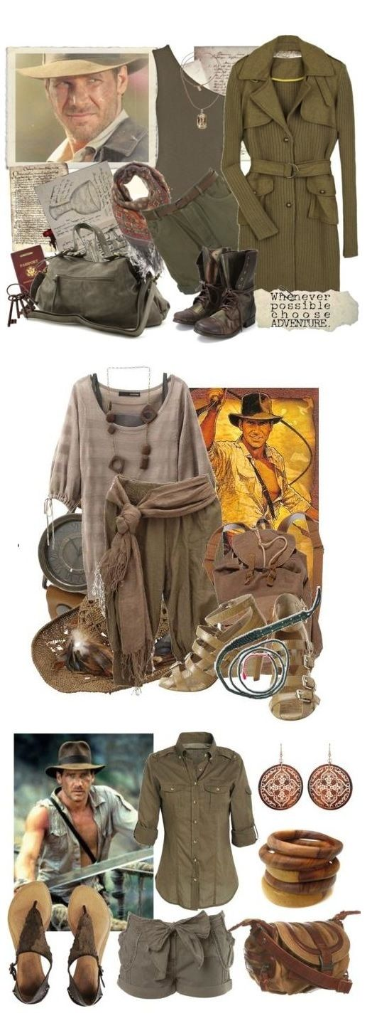 Indiana Jones costume inspiration