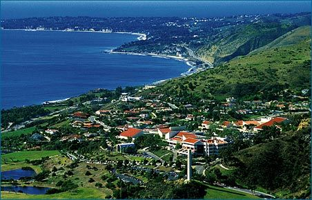 Pepperdine University in Maliba, CA, definitely one of the most beautiful campuses we toured when looking at colleges for Aubrey