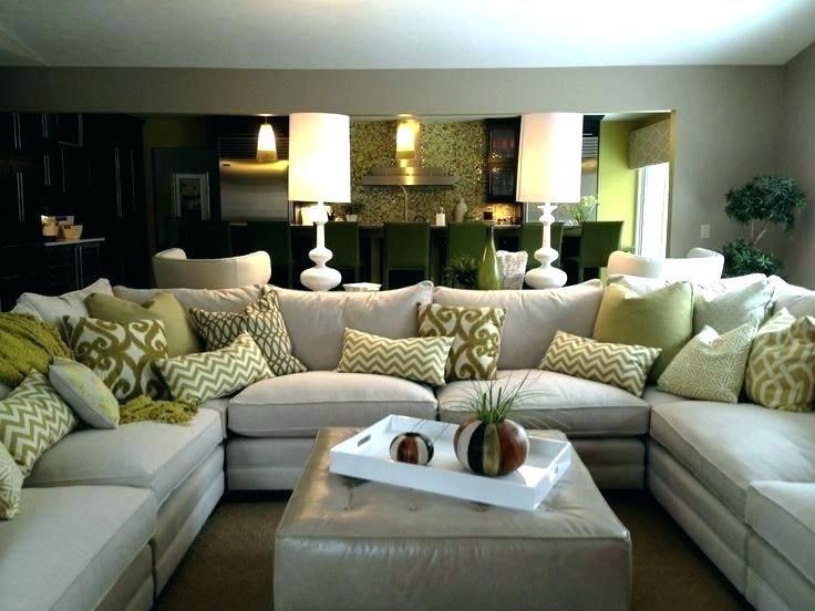 Awesome U Shaped Leather Sectional Or U Shaped Sectional Sofa U Shaped Sofa Sectionals Full Size O Family Room Sectional Family Room Sofa Living Room Sectional