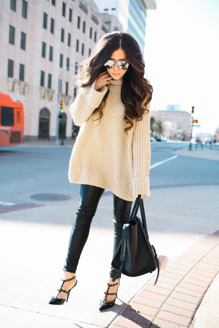 17 Best Images About Thesweetestthingblog On Pinterest Leather Pants Outfit Winter Fashion