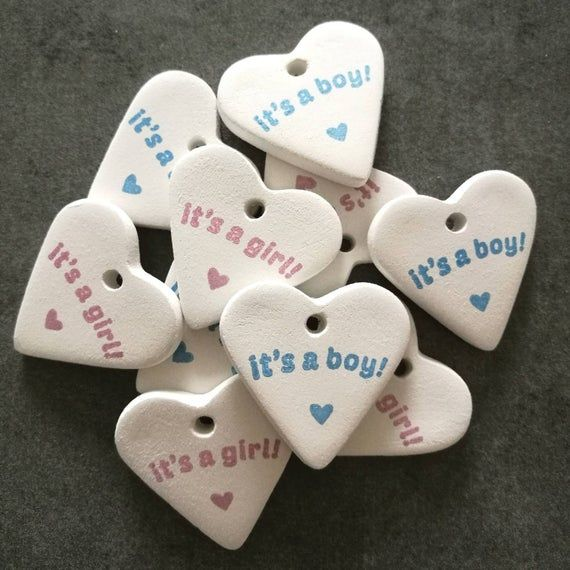 It/'s a boy tag new baby tag clay tag.