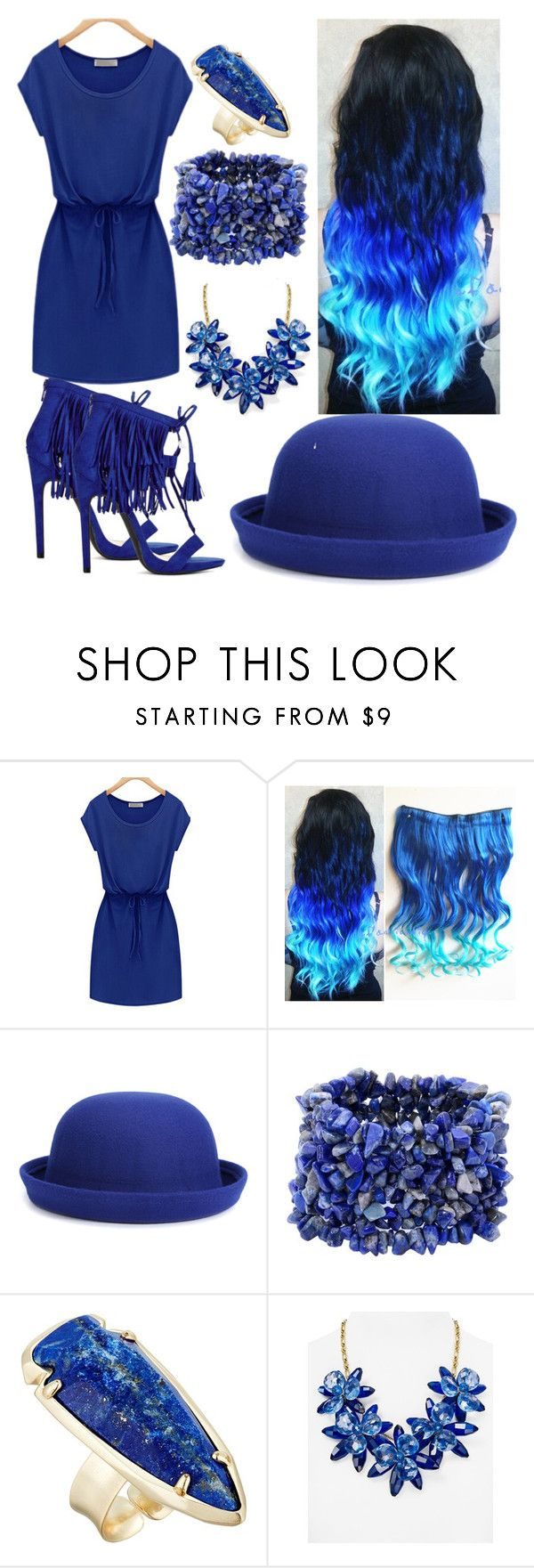 """20"" by cristina-vanau on Polyvore featuring WithChic, Kendra Scott and Kate Spade"