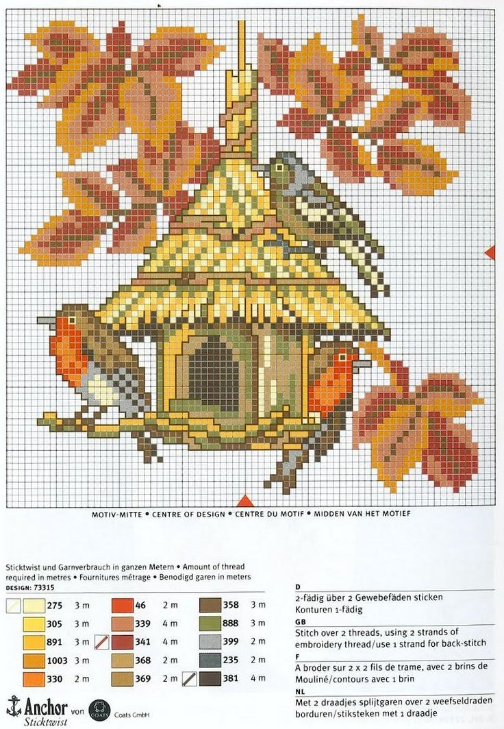 Autumn perler bead pattern