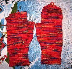 Marktfrauenhandschuhe mit Käppchen Da ich lange im Internet gesucht habe und nie eine so tolle und brauchbare Anleitung für Marktfrauenhands… – Ute Toll