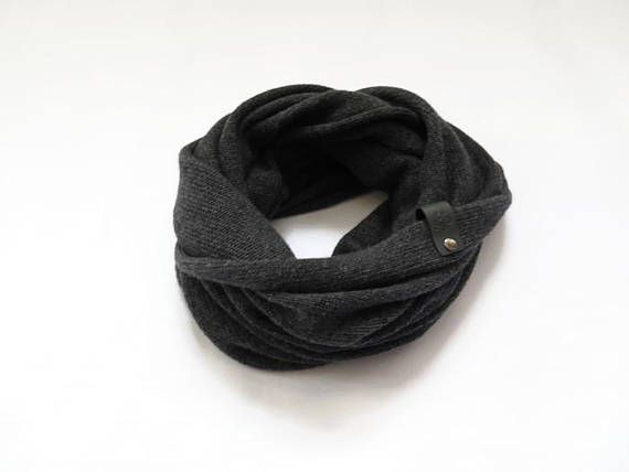 Cashmere scarf infinity Mens cashmere scarf Cashmere