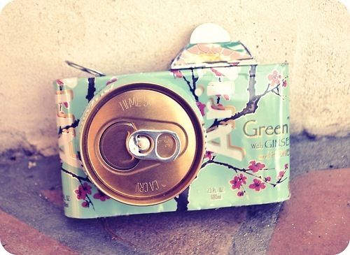 @Megan Despain Robinson !! Green tea AND camera in one. Sweetness.