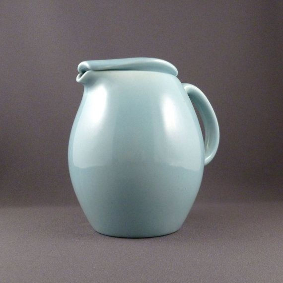 17 best images about mcm accessories on pinterest iroquois ceramic vase and modern - Russel wright pitcher ...
