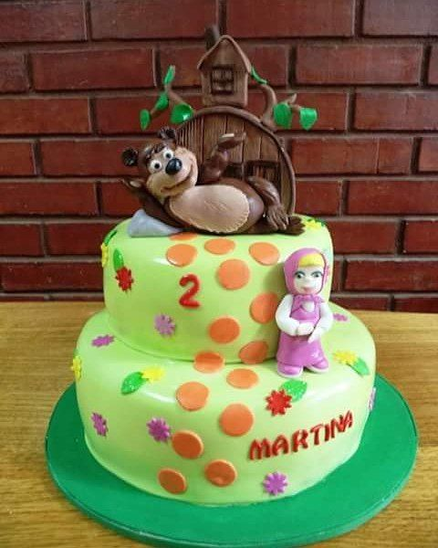 #Masha_y_el_oso #fondant #Cake by Volován Productos #Маша_и_Медведь  #Mawa_y_Oso #Puq #Chile #VolovanProductos