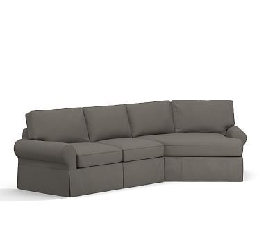 1000 Ideas About Sectional Slipcover On Pinterest