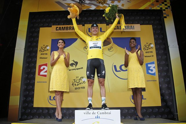 Tony Martin pakt ook de gele trui