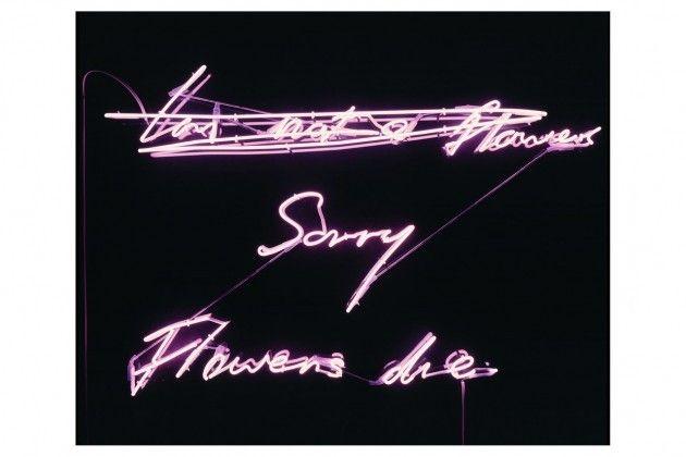 Sorry Flowers Die Tracey Emin