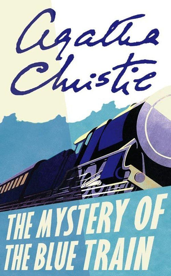 The Mystery Of The Blue Train Agatha Christie Livros Trem