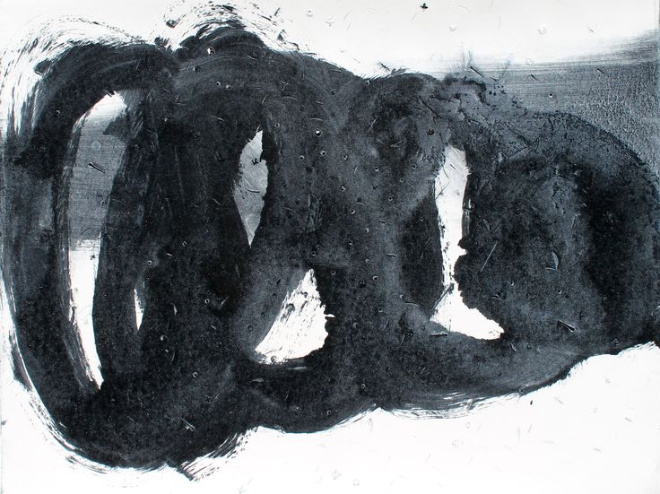 Zephyr Series (5) 24cm x 18cm Oil on paper