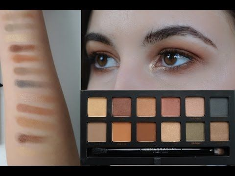 Master Palette By Mario | Review & Try On | Arm & Eye Swatches