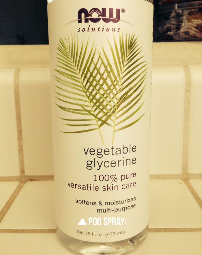 DIY Poo Pourri Recipe - Vegetable Glycerine