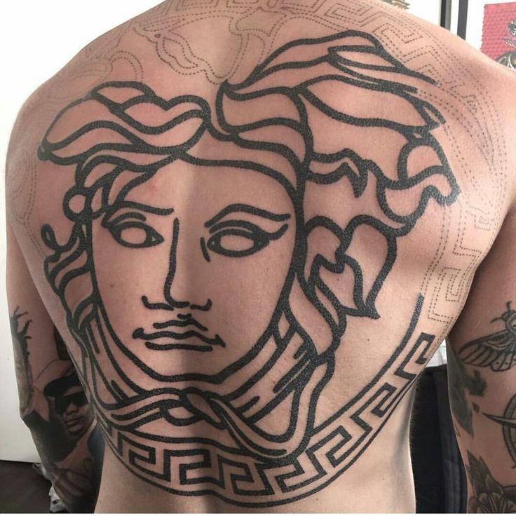 Versace Tattoo