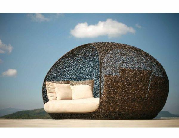 Porta Lind Gartenmobel : sommer Rattanmöbel polyrattan garten ideen liege lounge