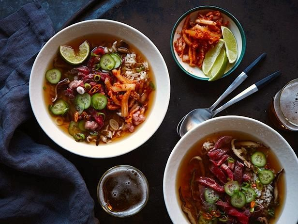 Inspired by Chopped: Top Sirloin Hot Pot: Food Recipes, Food Network, Network Kitchens, Dinners Ideas, Asian Hot, Hotpot, Kitchens Chilli, Pots Recipes, Tops Sirloin Hot Pots