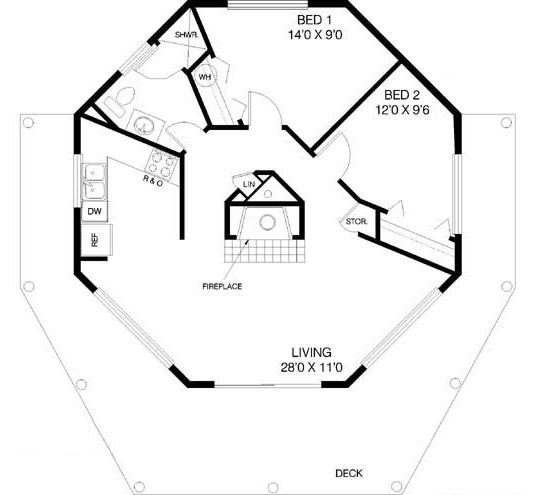 Best Images About Octagon House Plans Vintage Custom Octagonal Home Design And Building