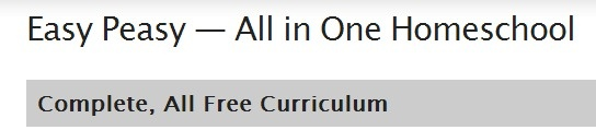 """A complete, free online homeschool. It includes many many links to free resources, k-12 (some upper grades may not be complete). FYI- It says """"Christian"""" on the home page but it links to many secular resources."""