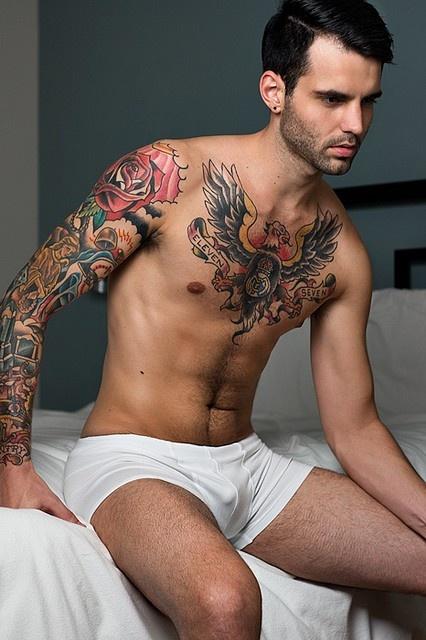 Far pornstar with tattoo on left shoulder