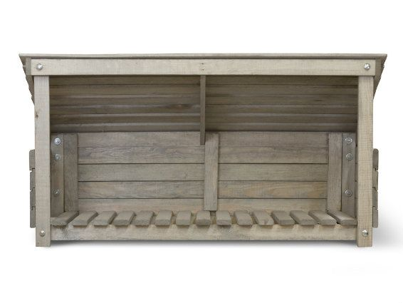 Outdoor Storage - Wooden Wellie Store & Parcel Holder