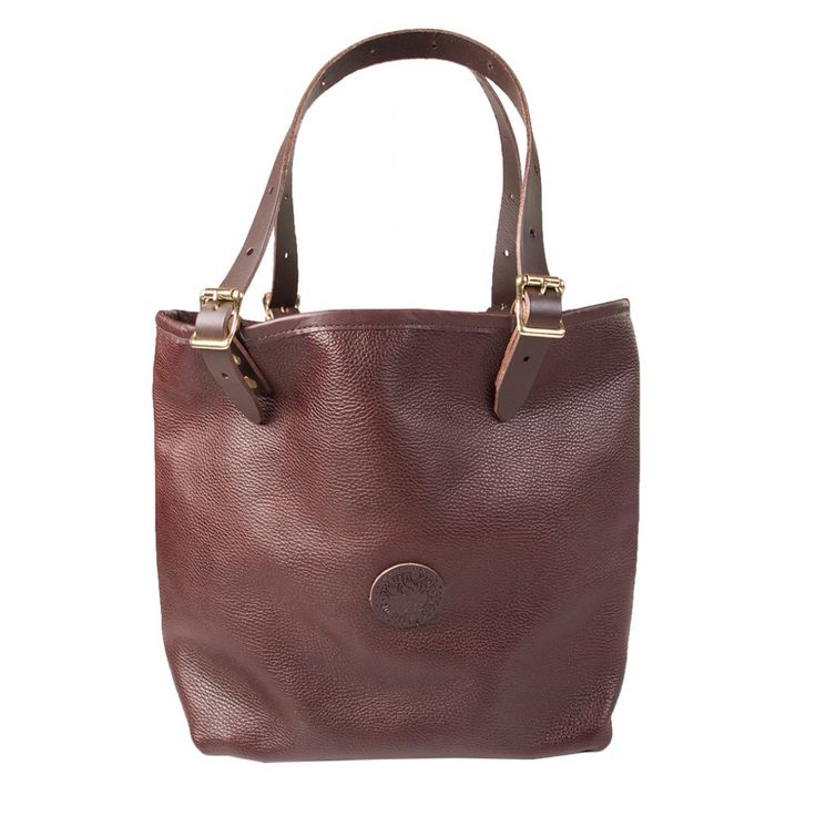 Duluth Pack Medium Leather Market Tote from District Grain