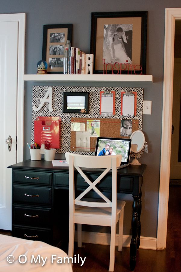 1000 ideas about small desk areas on pinterest small for Small office area