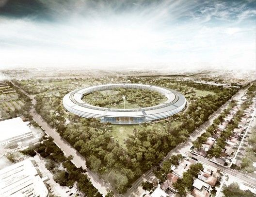Foster + Partner's new Apple Campus in Cupertino