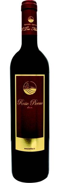 Recanati - Azienda I tre Filari - Rosso PIceno red wine