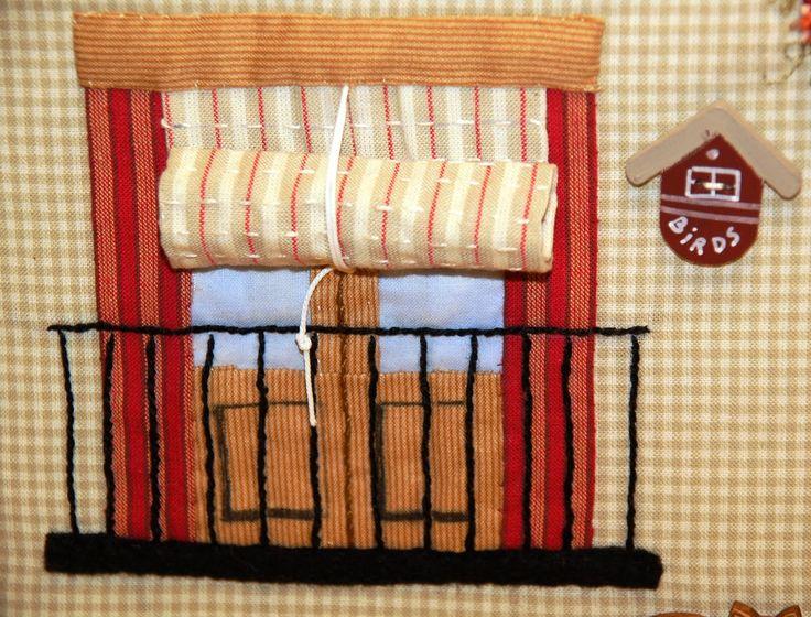 Olga Quilt: Una casita para BERNI