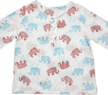 What's cute than this little elephant coverup! Perfect to keep the sun off delicate skin at the beach