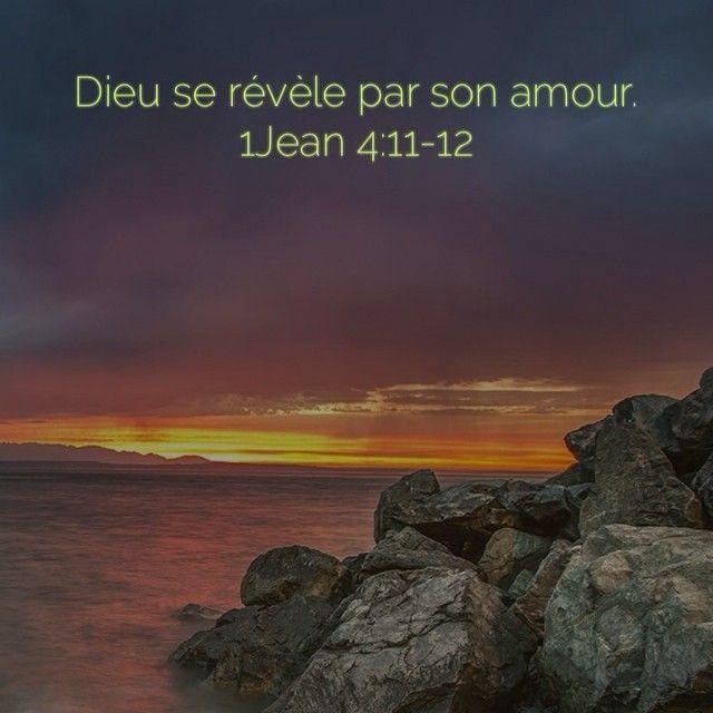 1 Jean 4:11-12