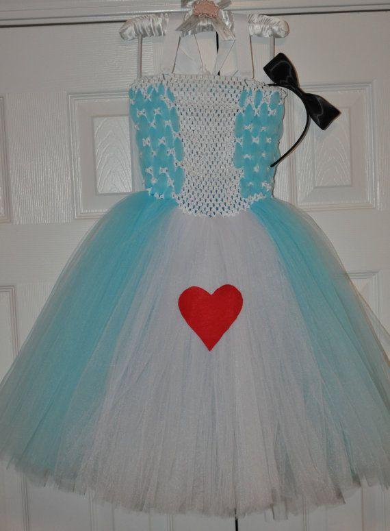 Beautiful Woven Alice in Wonderland Dress