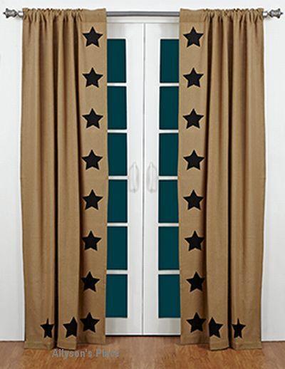 Curtains Ideas burlap sack curtains : 17 Best ideas about Burlap Curtains on Pinterest | Burlap, Rustic ...