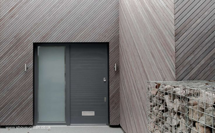Charred Kebony Timber Used On Hampstead House Exterior