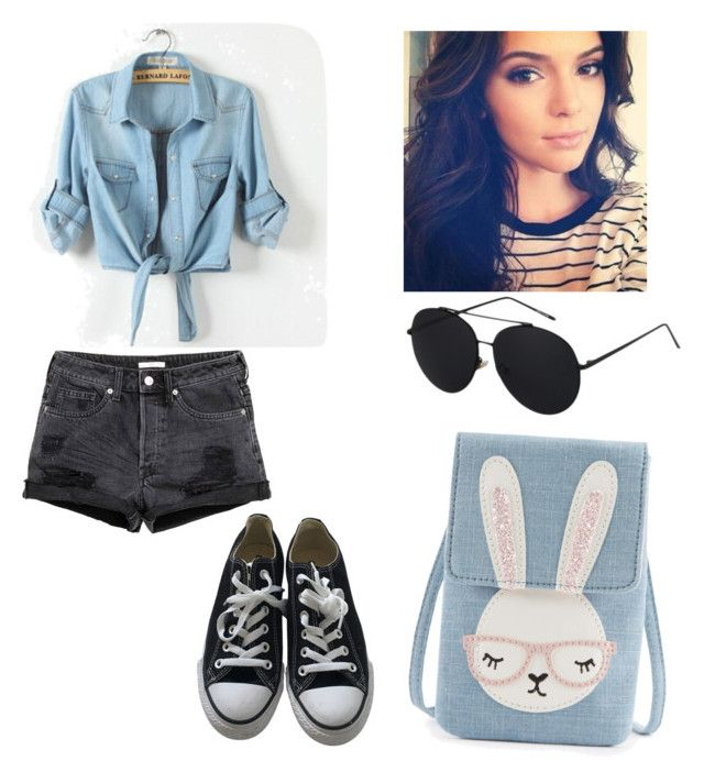 """""""casual y juvenil"""" by samantha2nazaret on Polyvore featuring Converse"""