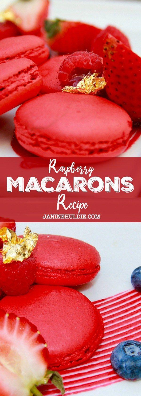 Raspberry Macarons Recipe