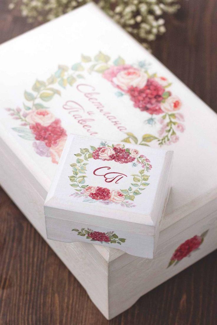 Свадебные шкатулки для колец Авторский Киоск