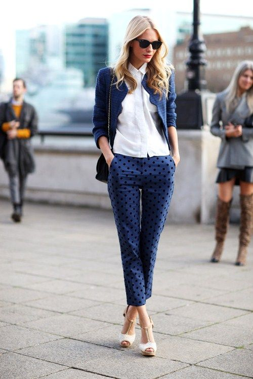 i need polka dot jeans in my life