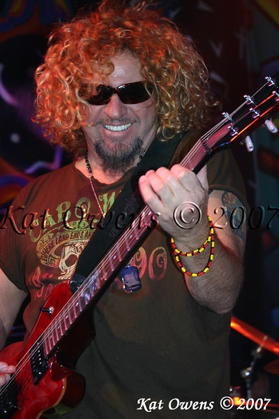 Love Sammy Hagar - talented and smart!
