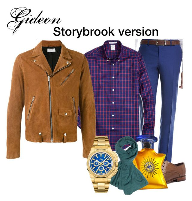 Gideon ouat style Light by oppachan on Polyvore featuring Brooks Brothers, Kiton, The Kooples, Julius Marlow, JBW, La Portegna, Bond No. 9, men's fashion and menswear