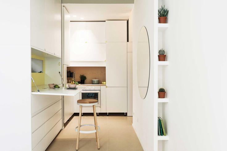 30 mq sui Navigli in affitto a Milano Foto Living